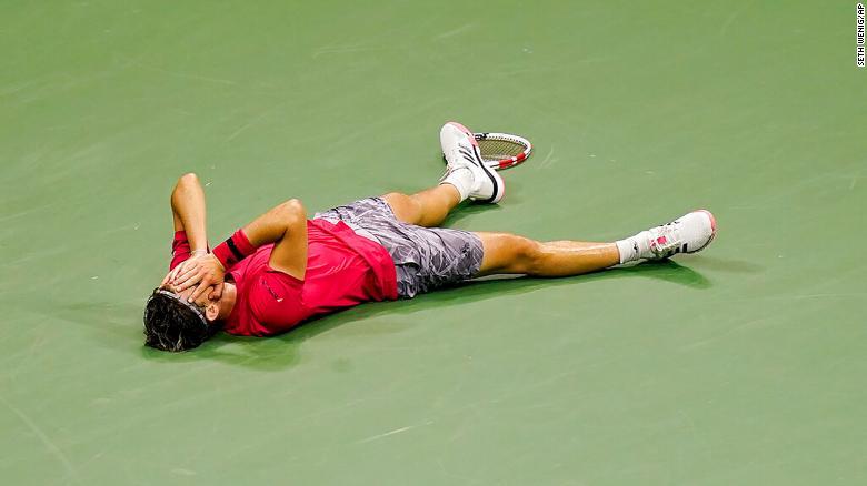Dominic Thiem guanyant el US Open