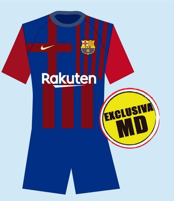 Equipació F.C Barcelona 2021/2022