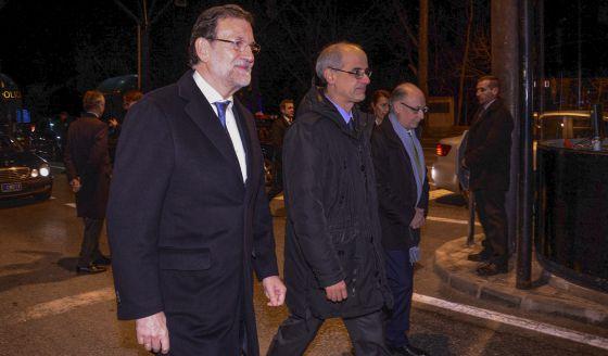 Rajoy i Montoro a Andorra
